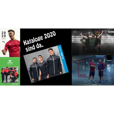 Kataloge 2020 sind da - Teamsport Kataloge 2020 von Puma, Jako, uhlsport, erima, derbystar