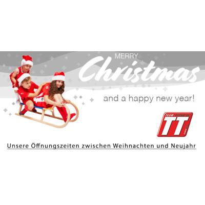 Öffnungszeiten Weihnachten -