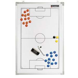 DERBYSTAR Taktiktafel Aluminium, Fussball, 60x90cm