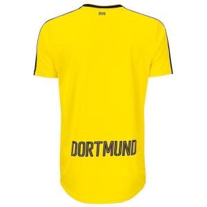BVB Home Replica Shirt w. Sponsor, gelb/schwarz
