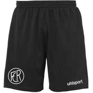 1.FCR UHLSPORT Goal Trikot Shorts schwarz