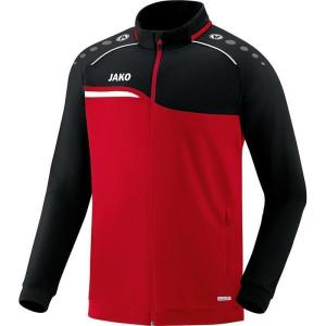 JAKO Polyesterjacke Competition 2.0, rot/schwarz,...