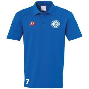VfR UHLSPORT Essential Polo Shirt azurblau