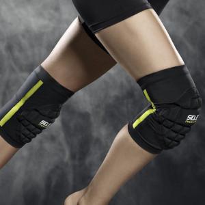 SELECT Kniebandage Handball Kinder ( Paar ) schwarz