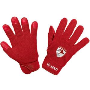 SVE JAKO Feldspielerhandschuhe Fleece rot