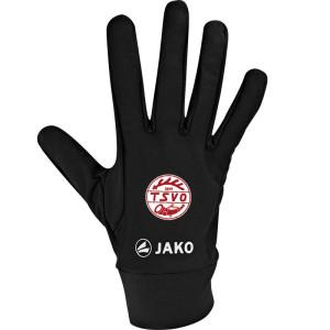 TSVO JAKO Feldspielerhandschuhe Funktion schwarz