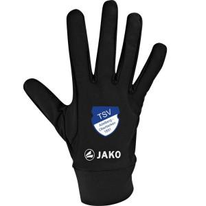 TSVA JAKO Feldspielerhandschuhe Funktion schwarz