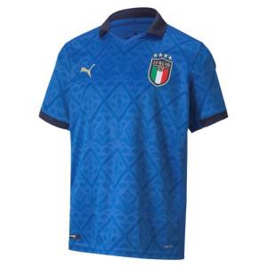 PUMA FIGC Home Shirt Replica Jr, Team Power Blue-Peacoat