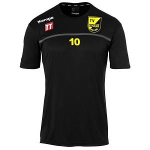 TVS KEMPA Emotion 2.0  Poly Shirt schwarz