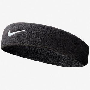 NIKE Swoosh Haarband black/white