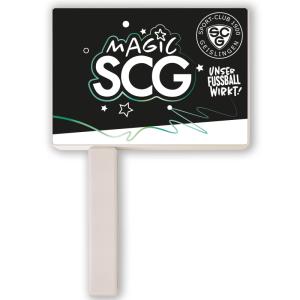 SCG Ratsche Plakat weiß inkl. Druck