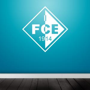1.FCE Wandtattoo in verschiedenen Größen und...