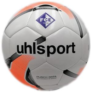 1.FCE UHLSPORT Team Ball, Größe 5 mit Logos