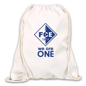 1.FCE Turnbeutel 100% Baumwolle mit Druck in...
