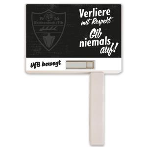 VfBR Ratsche Plakat weiß inkl. Druck