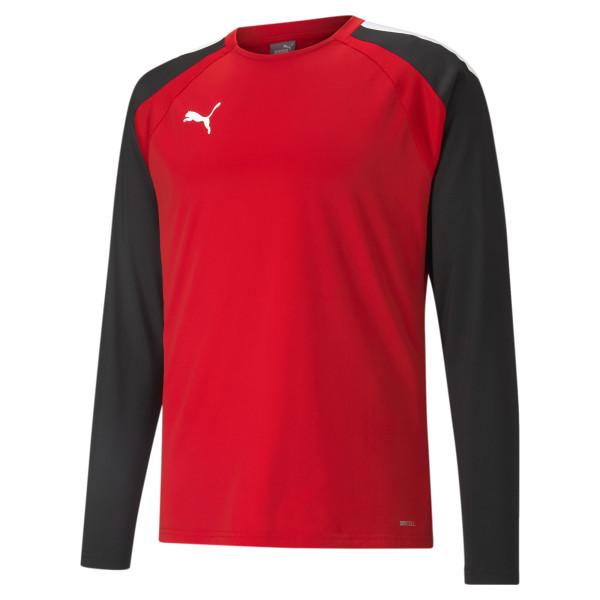 PUMA teamLIGA Training Sweat, Puma Red-Puma Black