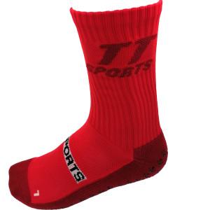 GRIPSOCKS TT Sports Socken rot