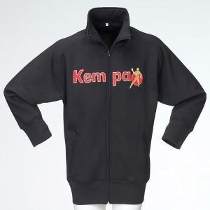 KEMPA Authentic Full Zip Sweat-Jacke black/red