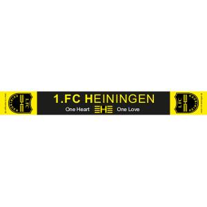 1.FC Heiningen Fanschal ca. 160 x 17 cm. inkl. Fransen