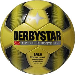 DERBYSTAR Apus Pro TT Trainingsball gelb/schwarz