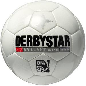 DERBYSTAR Spielball FB-Brillant APS Weiss Größe 5