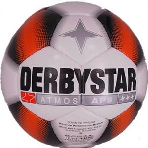 DERBYSTAR Spielball Atmos APS Weiss/Orange...